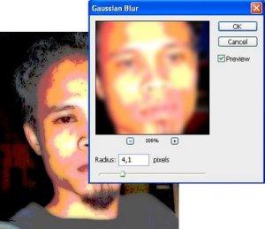 tutorial photoshop trace efek kartun 5