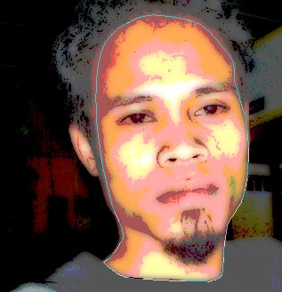 tutorial photoshop trace efek kartun 9