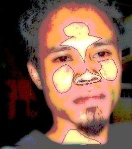 tutorial photoshop trace efek kartun 11