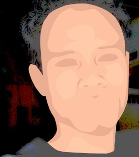tutorial photoshop trace efek kartun 14