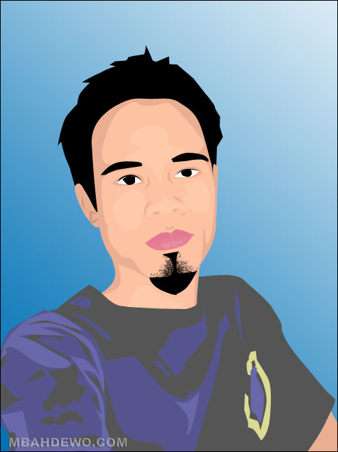 tutorial photoshop trace efek kartun 17
